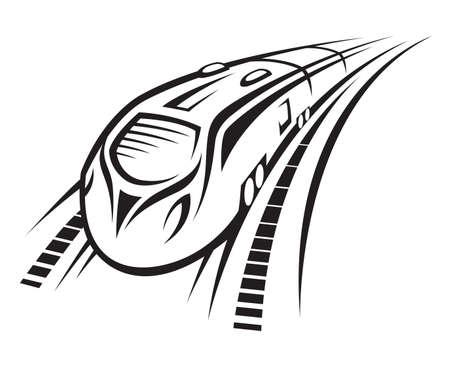 fast train: rapid train