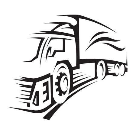 cartoon truck: cami�n
