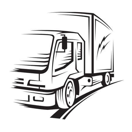 ruchome: ciężarówka