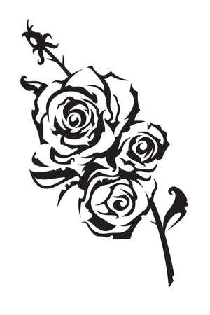 tattoo rose: roses