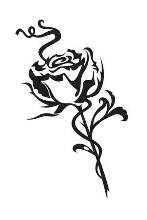 tattoo rose: rose