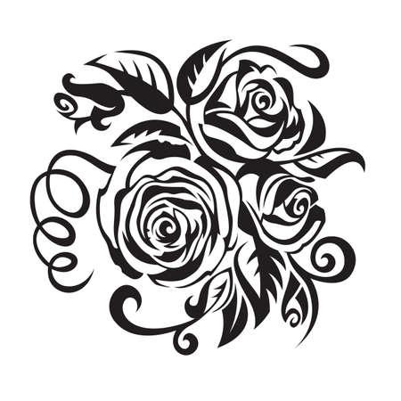 flower designs: roses