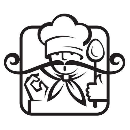 chef illustration: chef