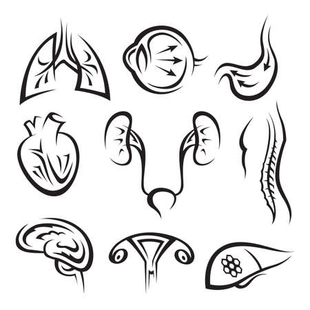 medical icons set Stock Vector - 11650369