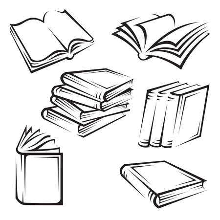 books Stock Vector - 11650400