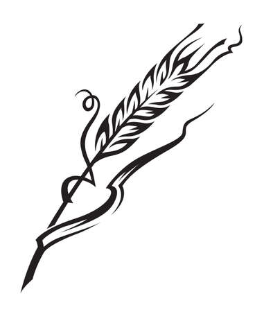 wheat illustration: wheat Illustration