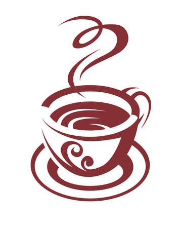 tazzina caff�: tazza di caff�