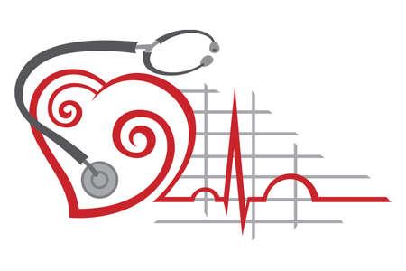 electrocardiogram Stock Vector - 11650250