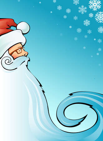 santa claus vector image Stock Vector - 11650079