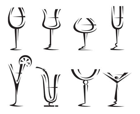 goblet: drinking glass collection