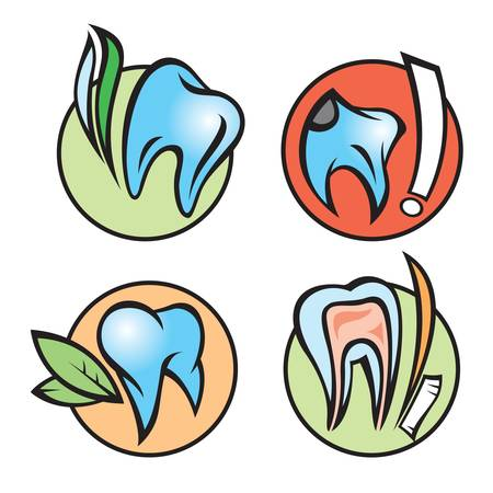 dental icons Stock Vector - 11650126