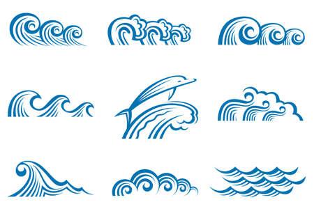 tide: conjunto de las ondas