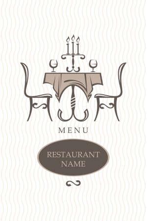 mesa de comedor: restaurante de dise�o de men�