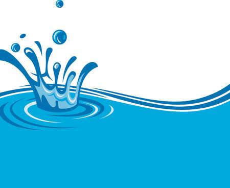 flowing water: imagen abstracta de fondo de las aguas