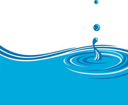 abstract beeld van water achtergrond