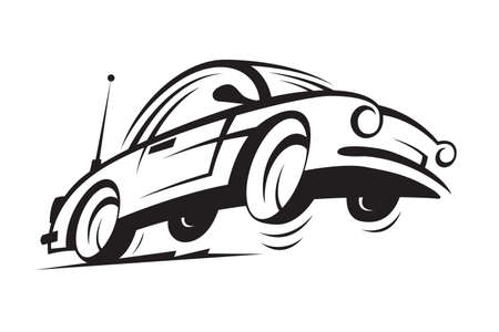 automobile industry: car Illustration