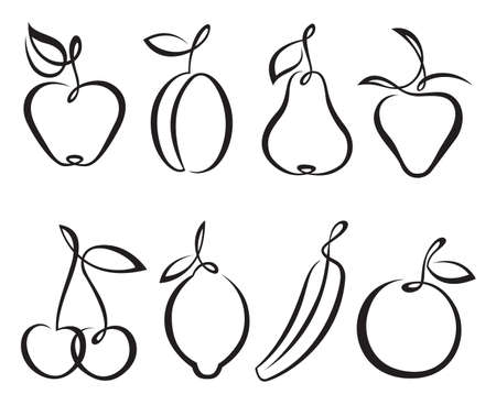 pear: fruits Illustration