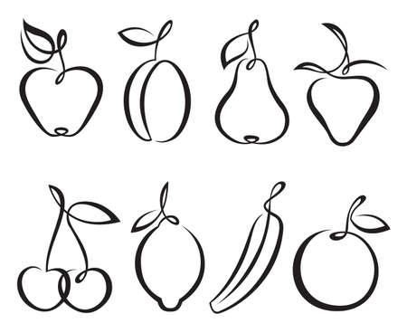 fruits Иллюстрация
