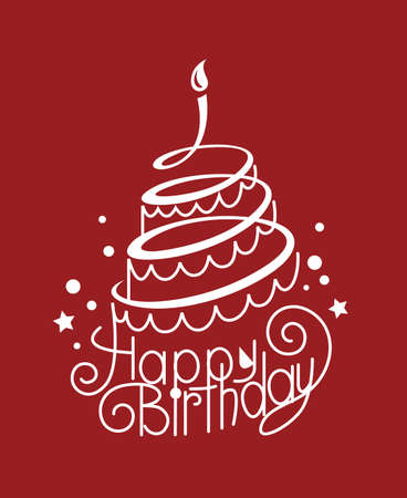 auguri di buon compleanno: torta di compleanno