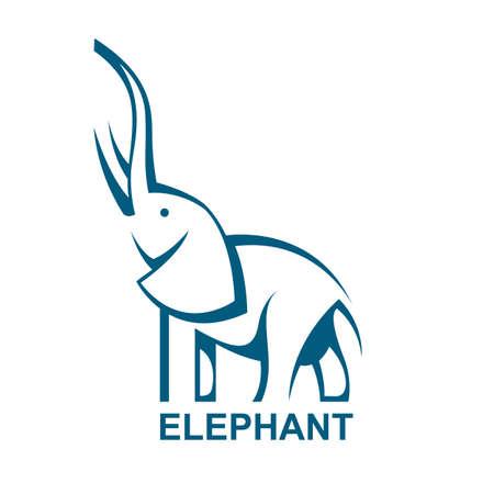 elephant icon 일러스트