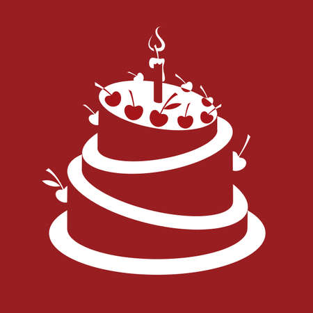 wedding cake: birthday cake