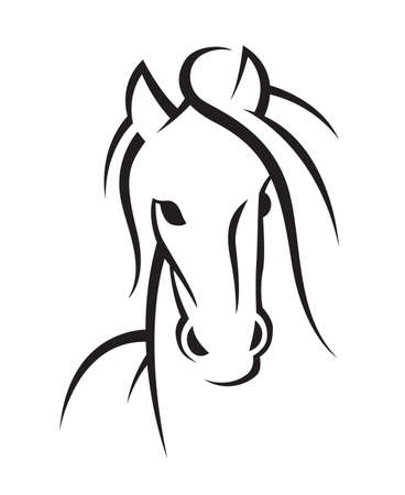 image of an horse Stock Vector - 26082049