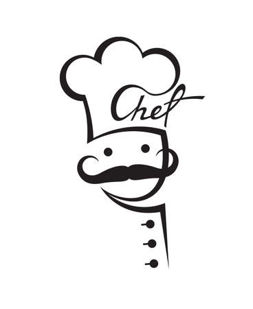 mustachioed chef