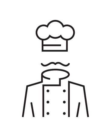 Mustachioed Chef Standard-Bild - 26622353
