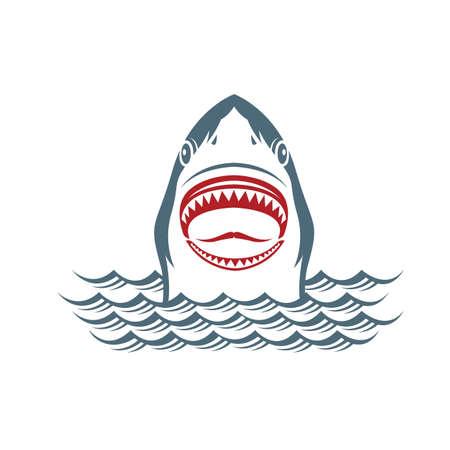 attack: warning sign of attack of sharks