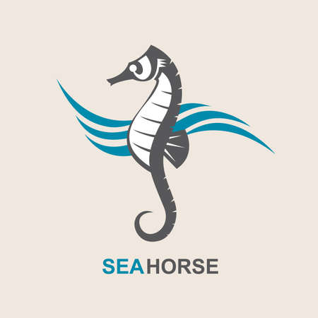 sunny: image of sea horse and ocean waves