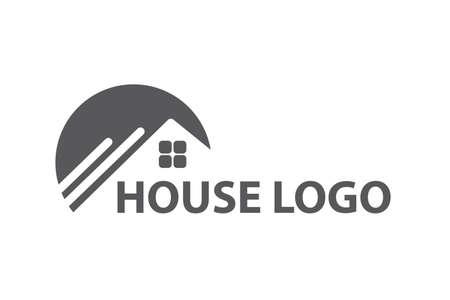 project: Monochrome design of house logo