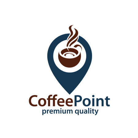 cup: Design of coffee point icon