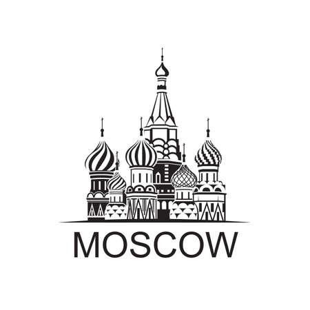 붉은 광장에 모스크바 세인트 바실 성당의 그림
