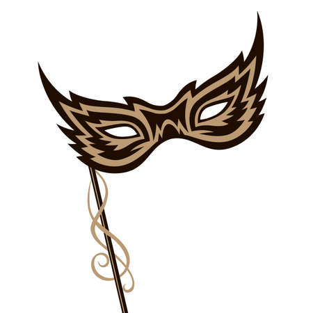 carnival mask image Vetores