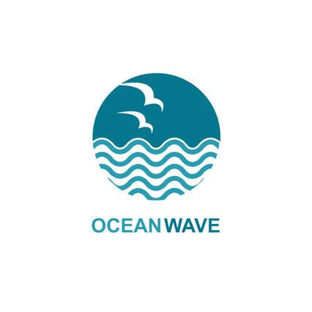 ocean icon design
