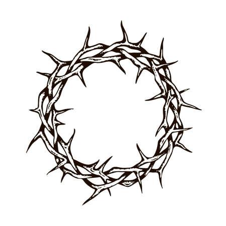 black crown of thorns image Standard-Bild - 122119279