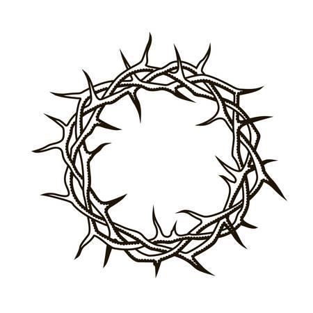 black crown of thorns image Standard-Bild - 122119609