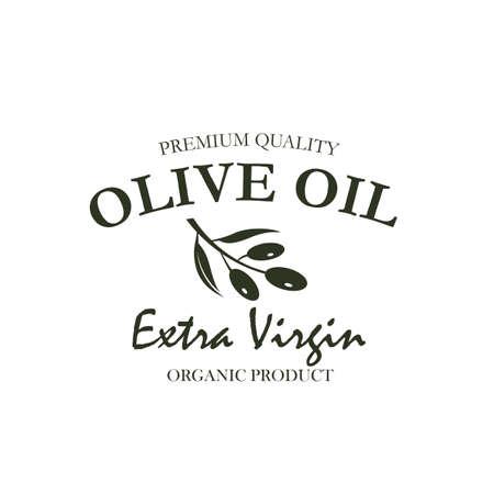label for extra virgin olive oil