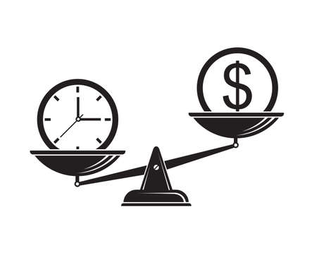 time is money on scales