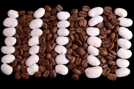 haricot: Haricot and coffe beans