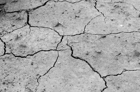 cracked ground into the dry season Zdjęcie Seryjne