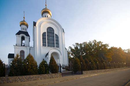 Temple 2000 anniversary of the Nativity, Kharkiv, Ukraine Zdjęcie Seryjne