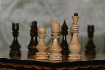 Chess checkmate combination
