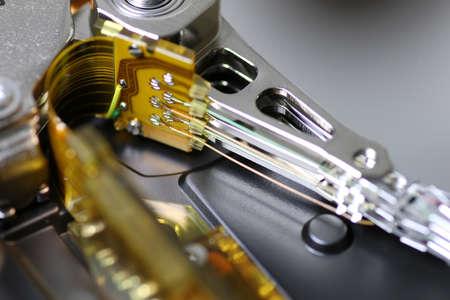 hard disc drive repair macro texture and background