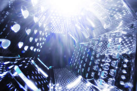 grater: universe space grater abstract background with lights Stock Photo
