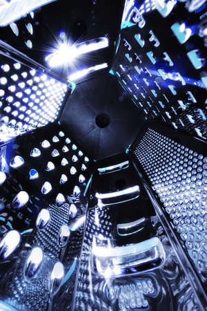 grater: universe space grater abstract