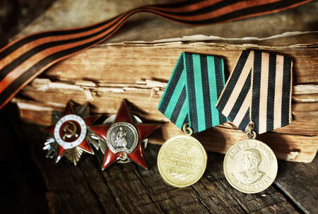 old military awards to participants of military operations during the Second World War