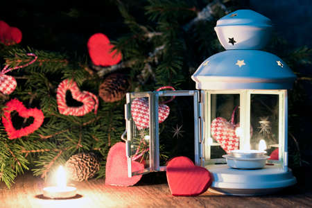 reason: decoration with a symbol of warmth and love of a small paper heart