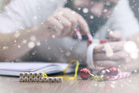 bustle: Christmas bustle letter writing with regards to all the family and friends