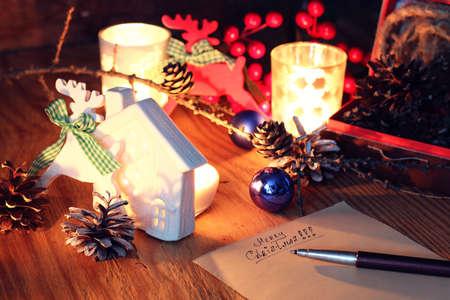 Hand Schreiben Grüße Für Das Neue Jahr Lizenzfreie Fotos, Bilder Und ...
